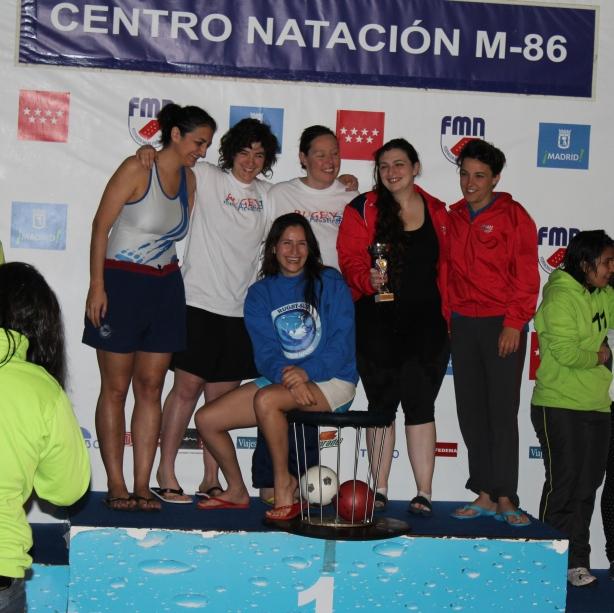 Madrid 2013 - premiazione femm